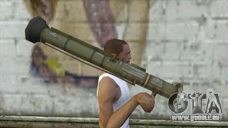 AT4 Rocket Launcher pour GTA San Andreas troisième écran