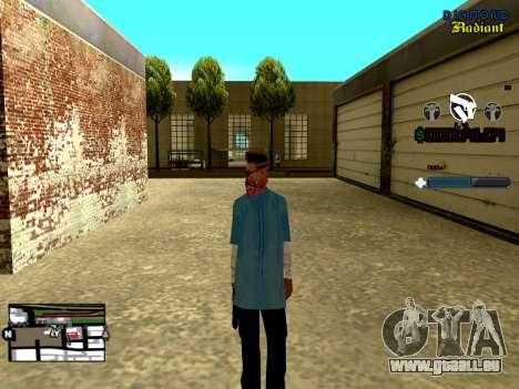 C-HUD Unity pour GTA San Andreas troisième écran