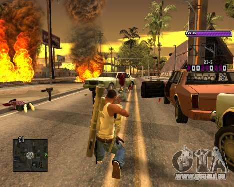 C-HUD Lite v3.0 pour GTA San Andreas troisième écran