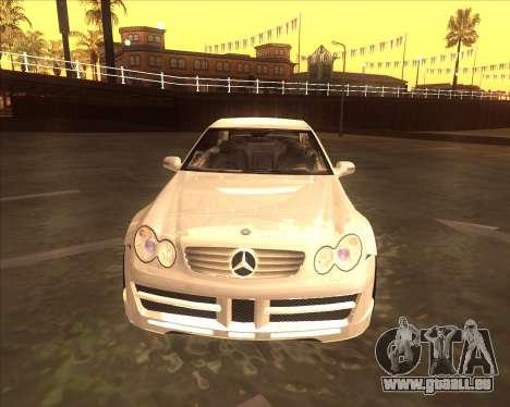Mercedes CLK 500 из NFS most Wanted pour GTA San Andreas laissé vue