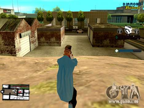 C-HUD Unity pour GTA San Andreas deuxième écran