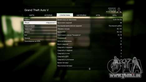 GTA 5 Speichern GTA 5 100% und 1 Milliarde PS3 zweite Screenshot