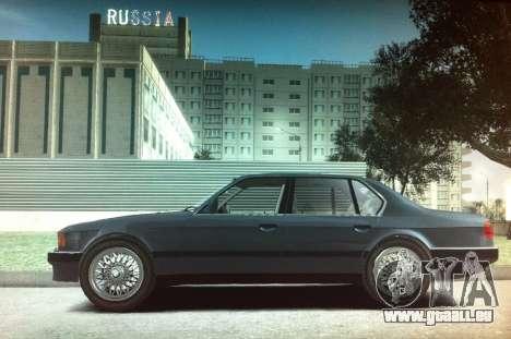 BMW 735iL e32 pour GTA 4 est une gauche