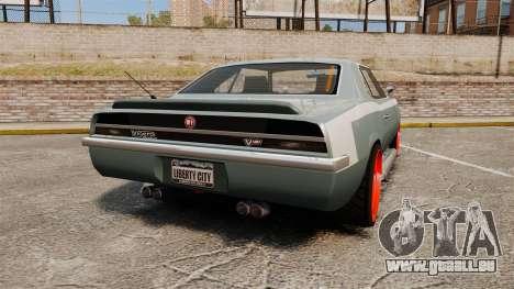 Declasse Vigero Supercharger v2.0 pour GTA 4 Vue arrière de la gauche