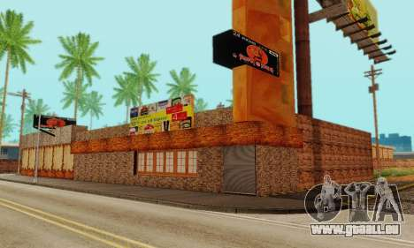La nouvelle texture de pizzerias et les services pour GTA San Andreas septième écran
