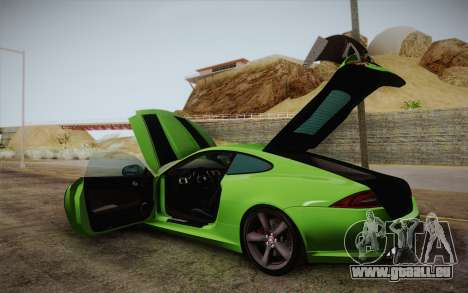 Jaguar XKR-S GT 2013 für GTA San Andreas Seitenansicht