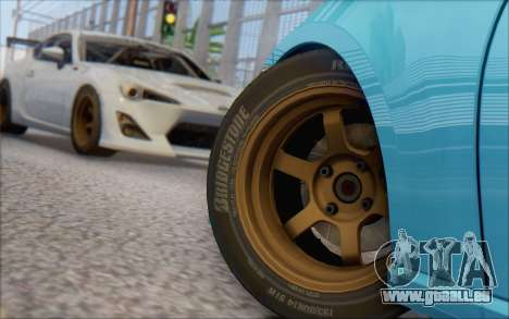 Scion FR-S 2013 Beam pour GTA San Andreas laissé vue