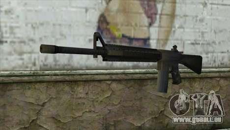 M16A4 Assault Rifle für GTA San Andreas