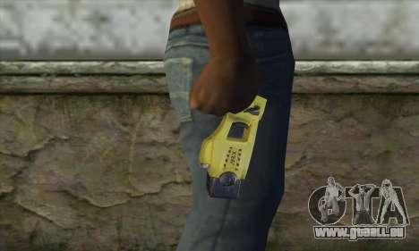 Taser Gun pour GTA San Andreas troisième écran