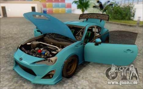 Scion FR-S 2013 Beam für GTA San Andreas Räder