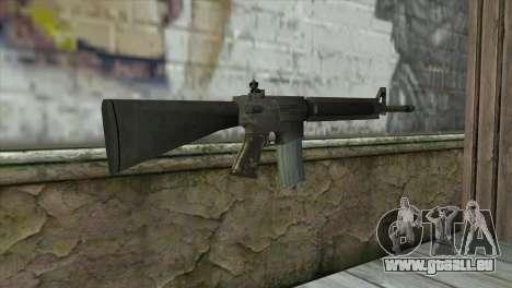 M16A4 Assault Rifle pour GTA San Andreas deuxième écran