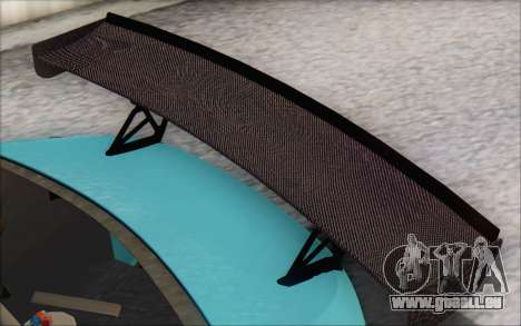 Scion FR-S 2013 Beam pour GTA San Andreas vue de dessus