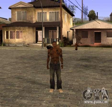 Nouveaux jeans pour CJ pour GTA San Andreas