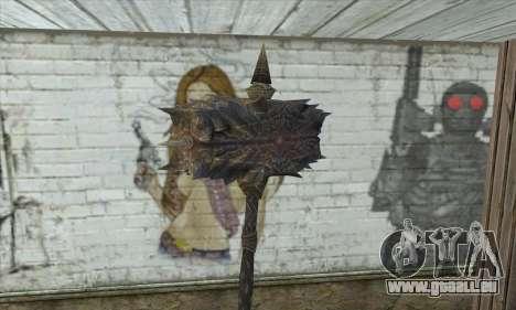 Die Axt von Skyrim für GTA San Andreas zweiten Screenshot