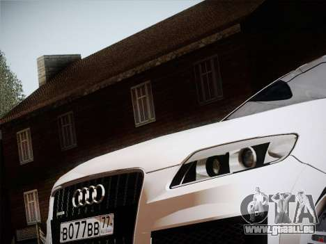 Audi Q7 pour GTA San Andreas laissé vue