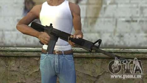 M16A4 Assault Rifle für GTA San Andreas dritten Screenshot