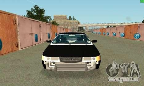 VAZ-21123 TURBO-Charge pour GTA San Andreas laissé vue