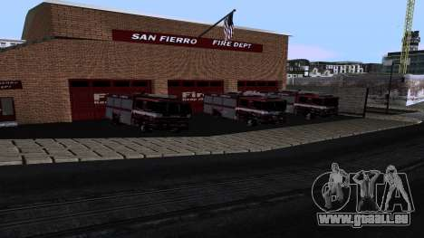 Updated San Fierro Fire Dept für GTA San Andreas