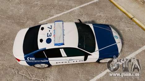 BMW F30 328i Finnish Police [ELS] pour GTA 4 est un droit