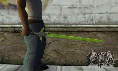 Legendary Crystal Sword für GTA San Andreas dritten Screenshot