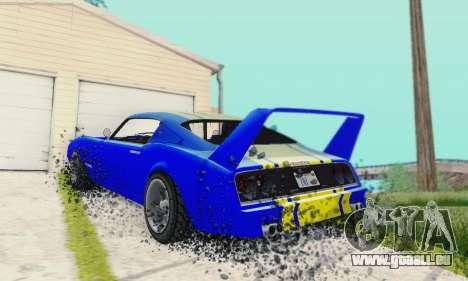 Imponte Phoenix из GTA 5 pour GTA San Andreas vue arrière
