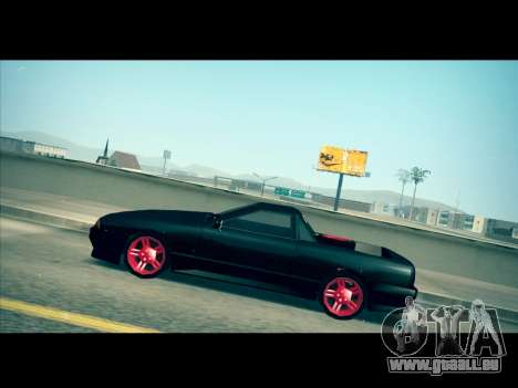 Elegy P1kachuxa Private pour GTA San Andreas vue de droite