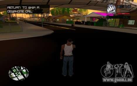 C-HUD by Smoke für GTA San Andreas dritten Screenshot