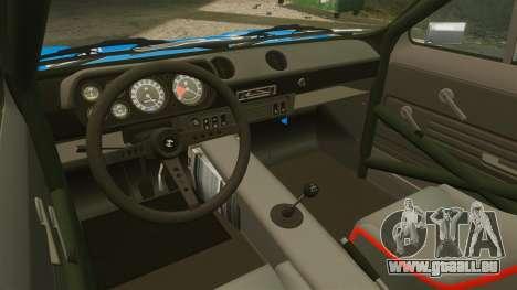 Ford Escort MK1 FnF Edition für GTA 4 Rückansicht