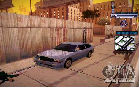 C-HUD One Of The Legends Ghetto pour GTA San Andreas deuxième écran