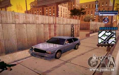 C-HUD One Of The Legends Ghetto für GTA San Andreas zweiten Screenshot