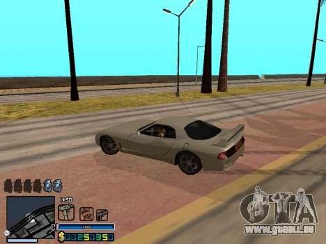 C-HUD By Stafford für GTA San Andreas neunten Screenshot