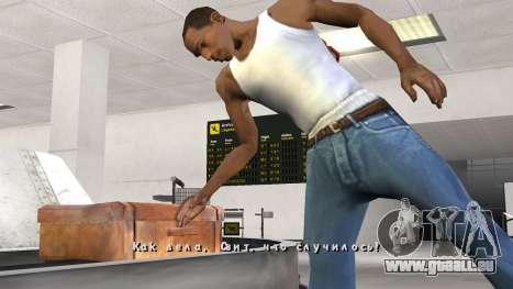 Nouvelle police V.3 pour GTA San Andreas pour GTA San Andreas cinquième écran