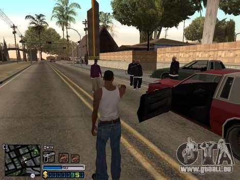 C-HUD By Stafford für GTA San Andreas dritten Screenshot