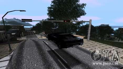 New Roads v2.0 pour GTA San Andreas deuxième écran