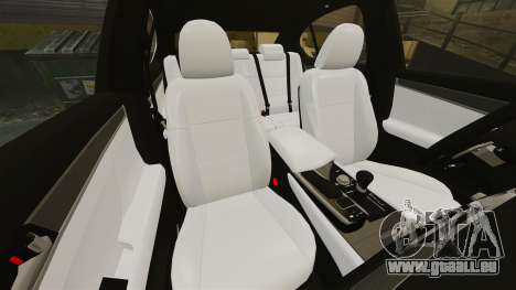 Lexus GS 300h für GTA 4 Seitenansicht