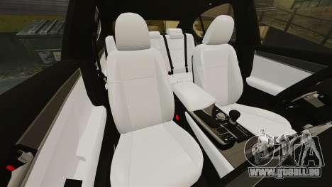 Lexus GS 300h pour GTA 4 est un côté
