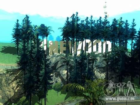 New Vinewood Realistic pour GTA San Andreas quatrième écran