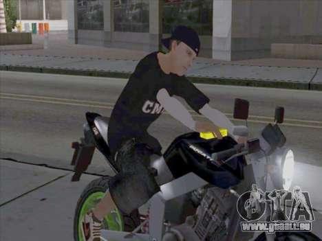 Haut-media-Arbeiter für GTA San Andreas zweiten Screenshot