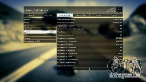 GTA 5 Speichern GTA 5 100% und 1 Milliarde PS3 dritten Screenshot