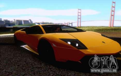 ENBS V4 pour GTA San Andreas deuxième écran