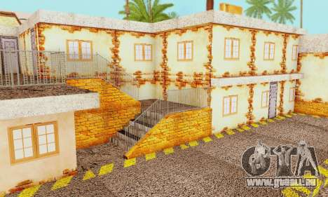 La nouvelle texture de pizzerias et les services pour GTA San Andreas douzième écran