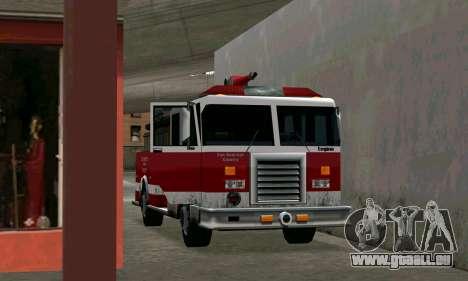 Réaliste caserne de pompiers à Los Santos pour GTA San Andreas