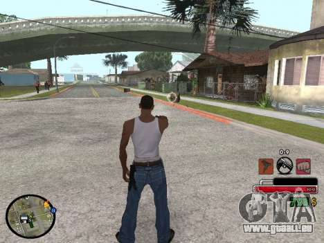 C-HUD by Martin pour GTA San Andreas
