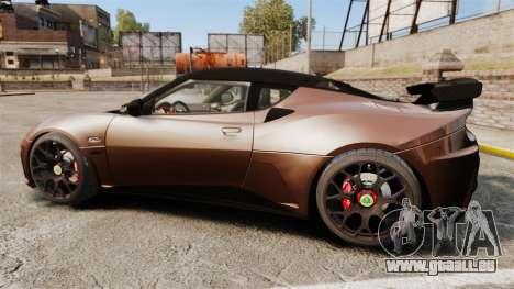 Lotus Evora GTE Mansory für GTA 4 linke Ansicht