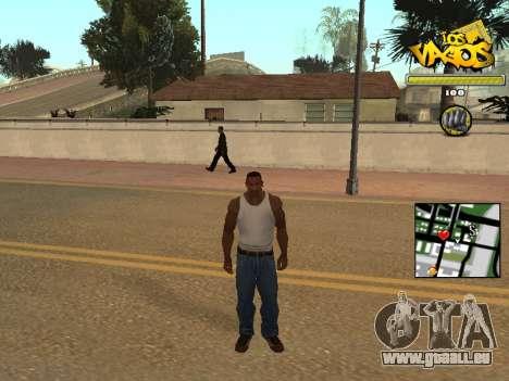 Vagos Gang HUD für GTA San Andreas