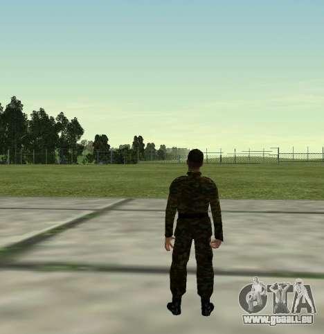Combattant de l'Armée russe v 2.0 pour GTA San Andreas quatrième écran