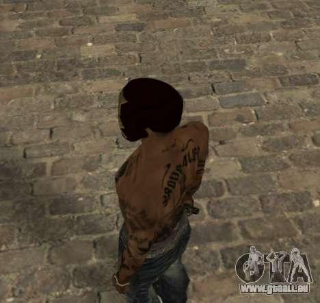 Masque d'Iron Man pour les CJ pour GTA San Andreas deuxième écran