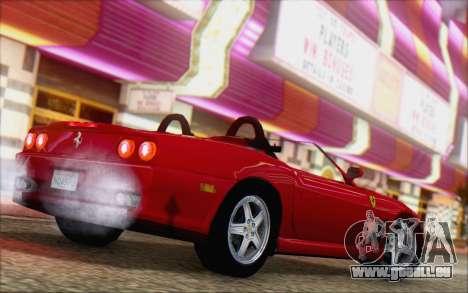 Ferrari 550 Barchetta pour GTA San Andreas laissé vue