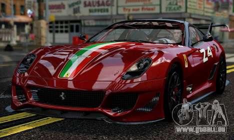 Ferrari 599xx Evoluzione pour GTA 4
