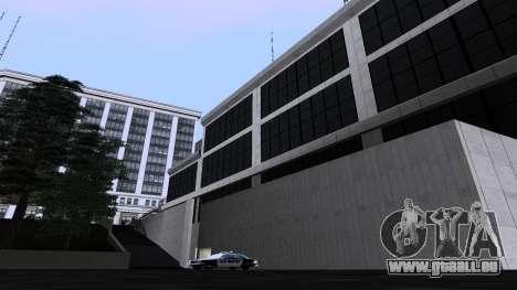De nouvelles textures SFPD pour GTA San Andreas quatrième écran